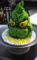 Mr. Grinch's Head on a Plate by Timtendo