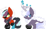 Spaztic Winter Foals 2 by Kyah-Pony-Adoptables