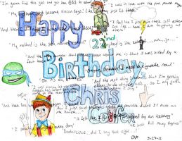 Happy 22nd Birthday, Christopher Paul Colfer! by midnightsparks3