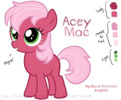 Acey Mac - CheeriMac's Offspring by Hasana-chan