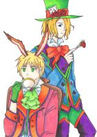 APH : FrUK in wonderland by Yudanaelle
