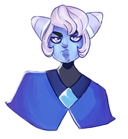 doesnt sound like a wise thing to do, holly blue by DumbTurquoise