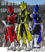 new Super Sentai? Mighty morphin? Power Ranger? by Hero-Jaxx