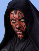Darth Maul/Sith Lord/Star Wars by eryxfrt