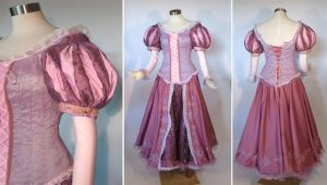 Rapunzel cosplay costume by glimmerwood
