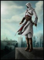 Assassin in the holy land by Destinyfall