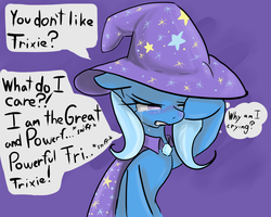 Tsundere Trixie - BAD END by ACharmingPony