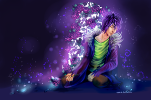 Garry, Prince of Blue Rose by Asano-nee