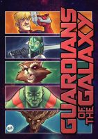 Guardians of the Galaxy by alexsantalo