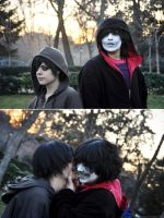 HOMESTUCK Gamzee and KK 4Chords cosplay by CarcinoVantasKisu