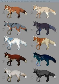 Enfield Adoptables - character auction -CLOSED by akreon