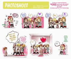 Gazette chibi - Photoshoot by Alzheimer13