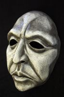 Elder Mask in White by Faust-and-Company