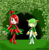 In the forest by Sakura123Cha