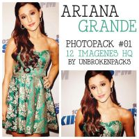 +Ariana Grande Pack 01. by UnbrokenPacks