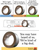 Duct Tape Ads by charpal