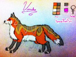 Vivicka Reference Sheet 2014 by TheDragonInTheCenter
