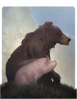 bear and pig by AlexPerkins