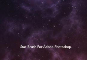 Star Brush For Photoshop by studioedelyn