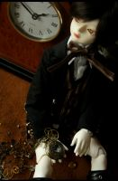 day 165 - the clockmaker by Kaalii