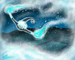 First Snow by FoxyTeah