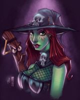 Witchy Boo by Zatransis