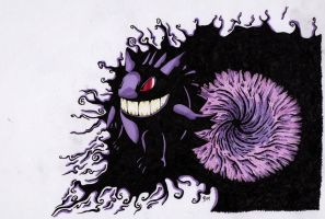 Drawing Day - Gengar by BMIllustration