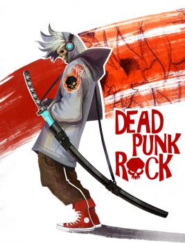Dead Punk Rock - Skullboy by Eyardt
