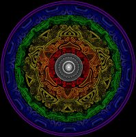 Fibonacci and Chakra test by ArtOfWarStudios