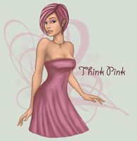 Think Pink by Evelyn-arts
