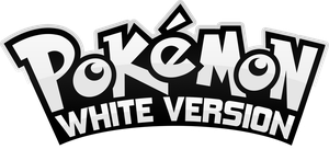 Pokemon White Version Logo by Nalty