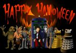 Doctor Who Happy Halloween by CPD-91