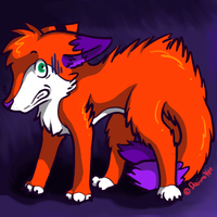 Scaredy_Fox by pukukurin