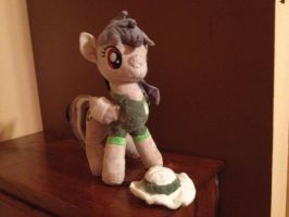 Daring Do Plushie by x-Flamerunner-x