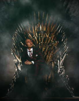 Hannibal at the Throne by evansblack