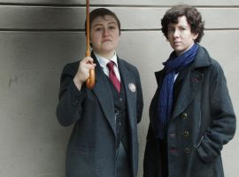 Sherlock: Of Course He's My Brother by MirroredSilhouettes