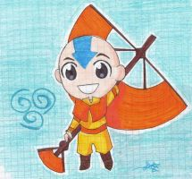 Aang by Yue-Wolfie