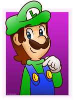 Luigi, number one! by Isaangie