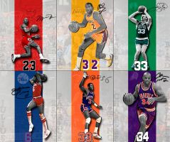 NBA Legends by rhurst