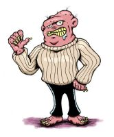 Cable-knit Mutant: Revenge of the Skinny Jeans by weakcut
