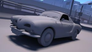 Karmann Ghia by esandoval