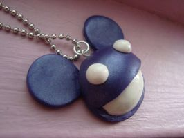 Purple Deadmau5 Charm take 2 by knuxnbats