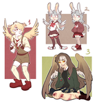 Winged adopts AUCTION CLOSED by TheHobbyHorse