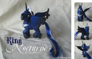 King Nocturne, Celestia and Luna's father by SalliCostumer