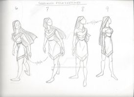 Body Practice - Pocahontas - 2 by littlewaysoul