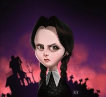 Wednesday Addams! by fubango