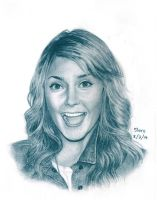 Grace Helbig by shirozen