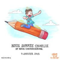 Nous sommes Charlie by TheBourgyman