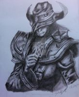 Twisted Fate (league of legends) by Randomonium5