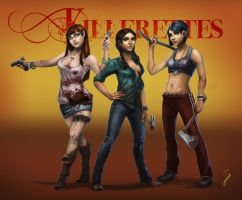 Killerettes 3 by willowofthetime